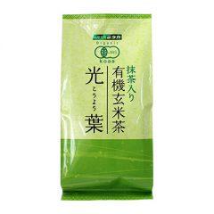 抹茶入り有機玄米茶 光葉 150g