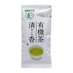 有機緑茶 清香(せいか) 90g